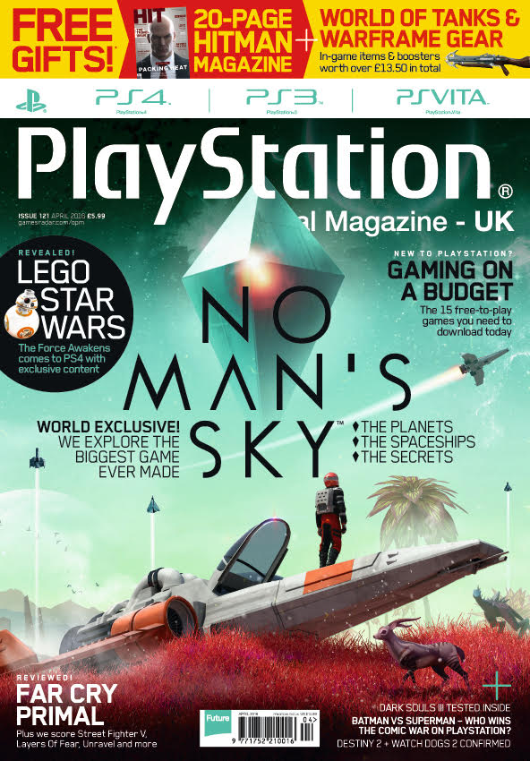No Man's Sky on the cover of OPM UK and PC Gamer - No Man's Sky