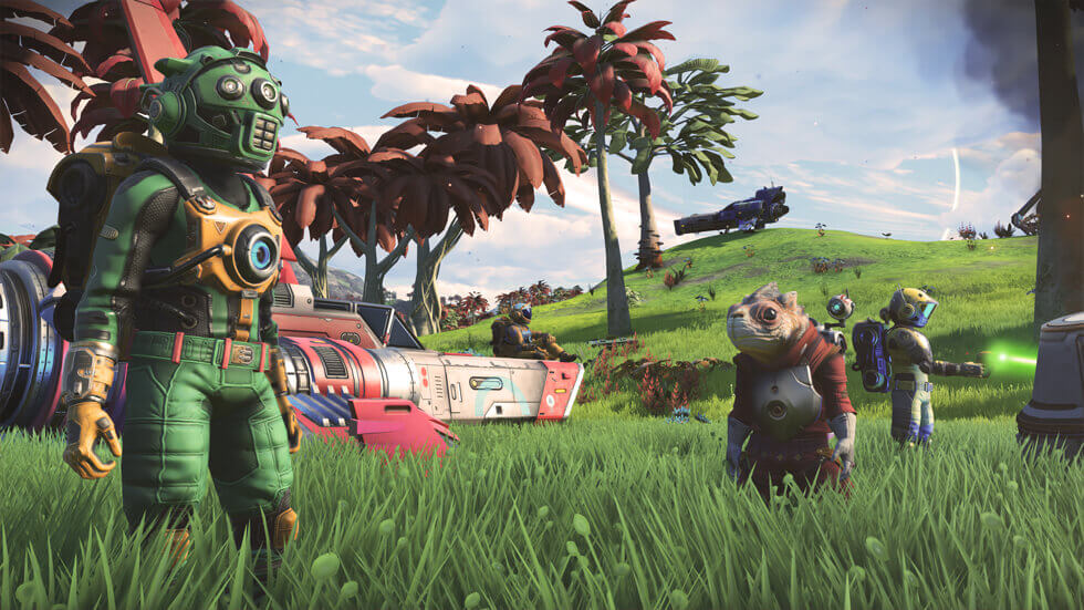 NMS Next Screenshot Green Grass